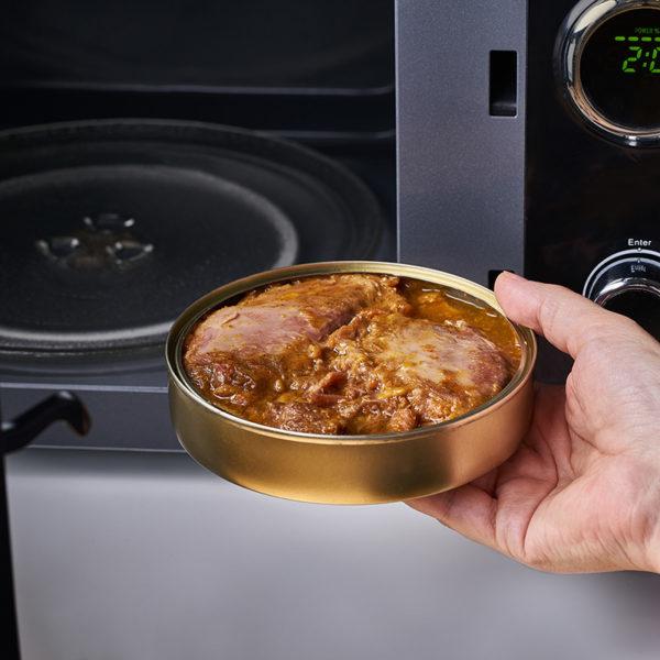 Microondas Carrillada de cerdo al vino - Cuchara de oro - ROGUSA