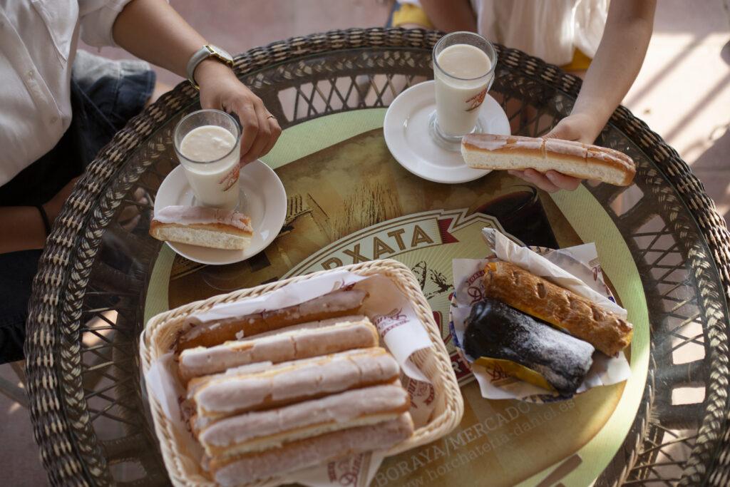 Gastronomia de valencia horchata y farton