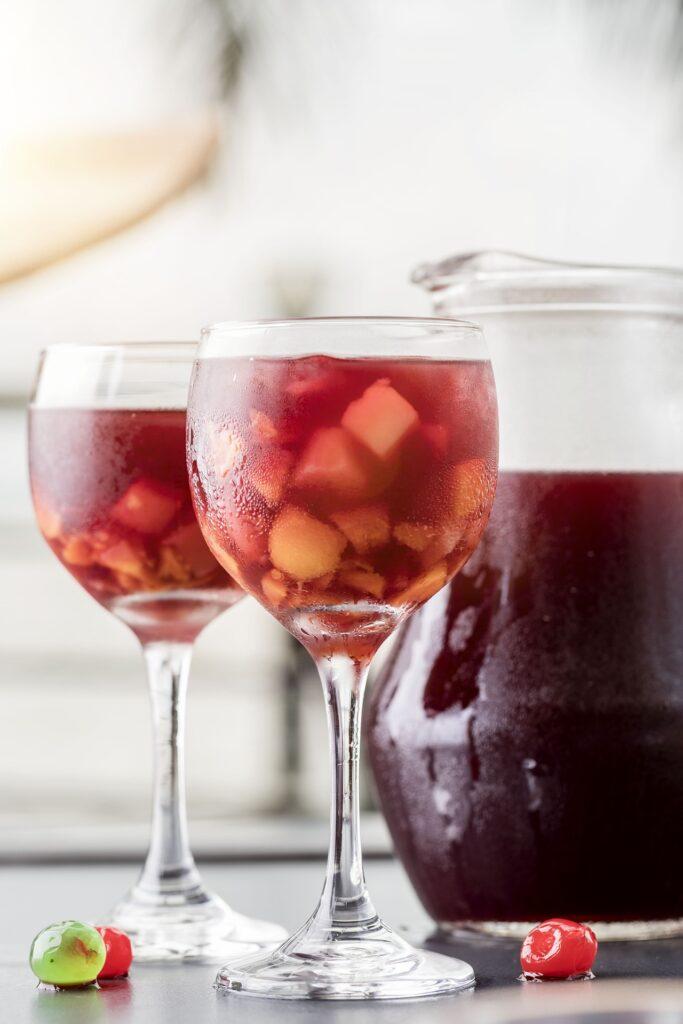 Sangria la bebida mas refrescante del verano